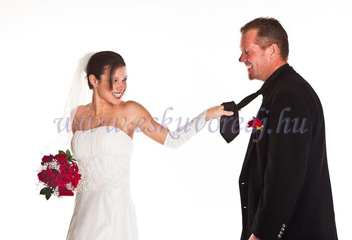 Ági és Karl esküvői tabló fotózása